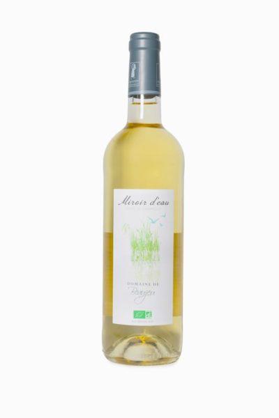 Vin blanc bio Miroir d'eau