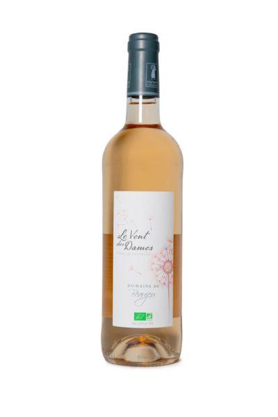 Vin rosé bio Le Vent des Dames