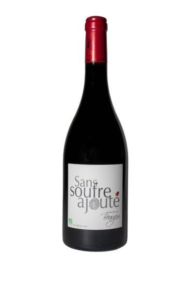 Vin rouge bio sans soufre